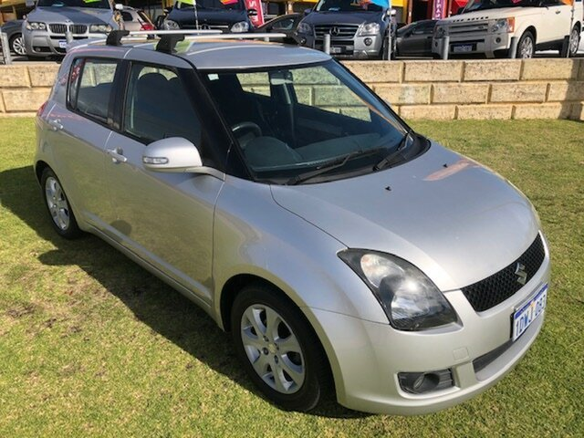 Used Suzuki Swift RS415 RE4 Wangara, 2010 Suzuki Swift RS415 RE4 Silver 5 Speed Manual Hatchback