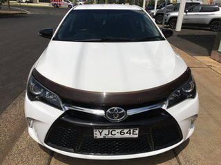 2017 Toyota Camry ASV50R RZ White Sports Automatic.