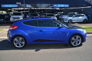 2014 Hyundai Veloster FS MY13 SR Turbo Blue 6 Speed Automatic Coupe.