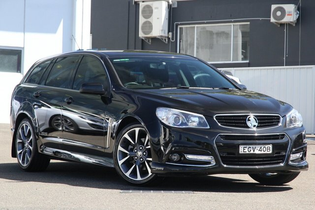 Used Holden Commodore VF MY15 SS V Sportwagon Brookvale, 2015 Holden Commodore VF MY15 SS V Sportwagon Black 6 Speed Sports Automatic Wagon