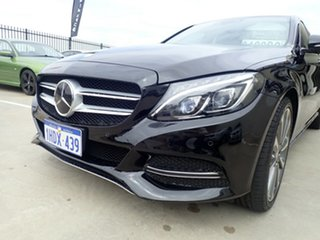 2014 Mercedes-Benz C-Class W205 C250 BlueTEC 7G-Tronic + Black Magic 7 Speed Sports Automatic Sedan.