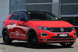 2020 Volkswagen T-ROC A1 MY20 140TSI DSG 4MOTION X Flash Red 7 Speed Sports Automatic Dual Clutch.
