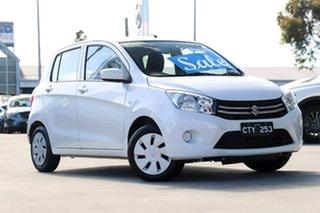 2015 Suzuki Celerio LF White 1 Speed Constant Variable Hatchback.