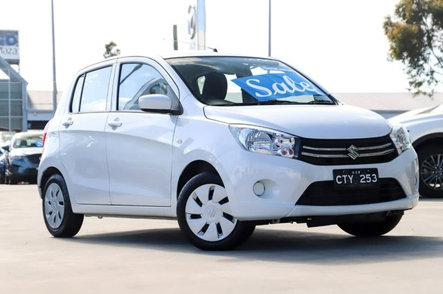 Used Suzuki Celerio LF Kirrawee, 2015 Suzuki Celerio LF White 1 Speed Constant Variable Hatchback