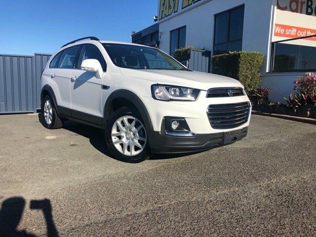 Used Holden Captiva CG MY16 Active 2WD Slacks Creek, 2016 Holden Captiva CG MY16 Active 2WD White 6 Speed Sports Automatic Wagon