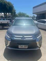 2016 Mitsubishi Outlander ZK MY16 LS 4WD Grey 6 Speed Constant Variable Wagon.