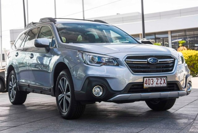 Demo Subaru Outback B6A MY20 2.5i CVT AWD Mount Gravatt, 2020 Subaru Outback B6A MY20 2.5i CVT AWD Ice Silver 7 Speed Constant Variable Wagon