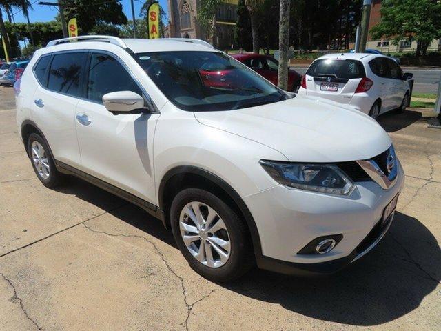Used Nissan X-Trail ST-L Toowoomba, 2015 Nissan X-Trail ST-L White Automatic Wagon