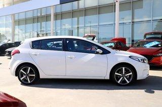 2017 Kia Cerato YD MY17 Sport White 6 Speed Sports Automatic Hatchback.