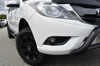 2016 Mazda BT-50 UR0YF1 XTR White 6 Speed Sports Automatic Utility.