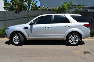 2011 Ford Territory SZ TS Seq Sport Shift Silver 6 Speed Sports Automatic Wagon.