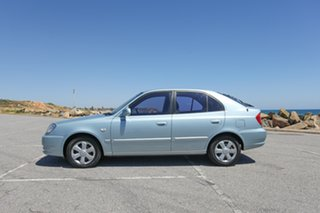 2004 Hyundai Accent LC MY04 GL Blue 5 Speed Manual Hatchback