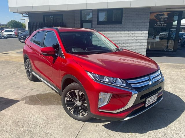 Used Mitsubishi Eclipse Cross YA MY20 LS 2WD Hillcrest, 2019 Mitsubishi Eclipse Cross YA MY20 LS 2WD Red 8 Speed Constant Variable Wagon