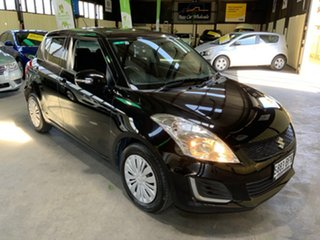 2015 Suzuki Swift FZ GL Black 4 Speed Automatic Hatchback.