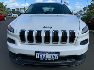 2015 Jeep Cherokee KL MY15 Sport White 9 Speed Sports Automatic Wagon
