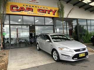 2014 Ford Mondeo MC Zetec TDCi Silver 6 Speed Direct Shift Wagon.