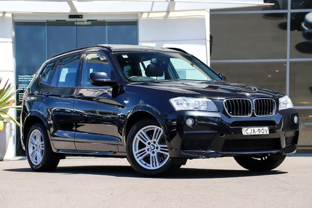 Used BMW X3 F25 MY1011 xDrive20d Steptronic Sutherland, 2011 BMW X3 F25 MY1011 xDrive20d Steptronic Black 8 Speed Automatic Wagon