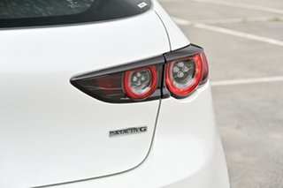 2019 Mazda 3 BP2H7A G20 SKYACTIV-Drive Evolve Snowflake White Pearl 6 Speed Sports Automatic
