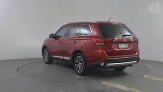 2016 Mitsubishi Outlander ZK MY16 XLS (4x2) Red Continuous Variable Wagon