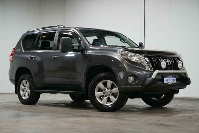Used Toyota Landcruiser Prado KDJ150R MY14 GXL Welshpool, 2014 Toyota Landcruiser Prado KDJ150R MY14 GXL Grey 5 Speed Sports Automatic Wagon