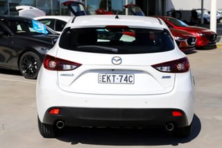 2015 Mazda 3 BM5478 Maxx SKYACTIV-Drive White 6 Speed Sports Automatic Hatchback