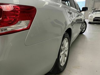2010 Toyota Aurion GSV40R MY10 AT-X Silver 6 Speed Sports Automatic Sedan