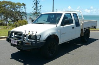 2001 Holden Rodeo TF MY02 LX Space Cab 4x2 White 4 Speed Automatic Utility