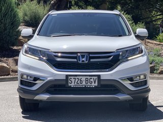 2015 Honda CR-V RM Series II MY16 VTi White 5 Speed Automatic Wagon.