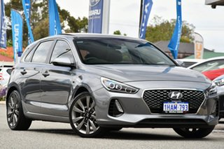 2017 Hyundai i30 PD MY18 SR D-CT Premium Grey 7 Speed Sports Automatic Dual Clutch Hatchback.
