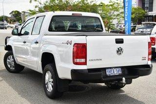 2017 Volkswagen Amarok 2H MY18 TDI420 4MOTION Perm Core Plus White 8 Speed Automatic Utility.