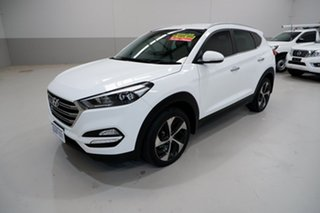 2016 Hyundai Tucson TLE Elite AWD White 6 Speed Sports Automatic Wagon.