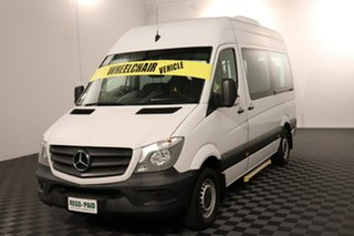 2017 Mercedes-Benz Sprinter NCV3 316CDI Low Roof MWB 7G-Tronic Transfer White 7 speed Automatic Special Purpose Bus.