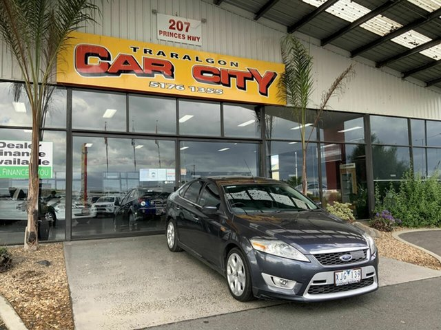 Used Ford Mondeo MB Titanium Traralgon, 2009 Ford Mondeo MB Titanium Grey 6 Speed Automatic Hatchback