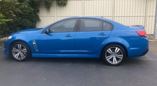 2014 Holden Commodore VF MY14 SV6 Perfect Blue 6 Speed Sports Automatic Sedan