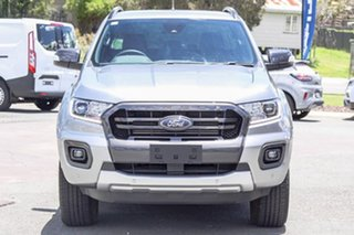 2020 Ford Ranger PX MkIII 2020.25MY Wildtrak Aluminium 10 Speed Sports Automatic Double Cab Pick Up.