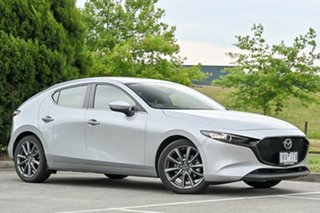 2019 Mazda 3 BP2HLA G25 SKYACTIV-Drive Evolve Sonic Silver 6 Speed Sports Automatic Hatchback.
