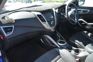 2014 Hyundai Veloster FS MY13 SR Turbo Blue 6 Speed Automatic Coupe