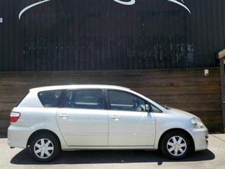 2008 Toyota Avensis Verso ACM21R GLX Silver 4 Speed Automatic Wagon.