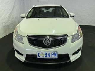 2012 Holden Cruze JH Series II MY12 CD Heron White 6 Speed Sports Automatic Sedan.
