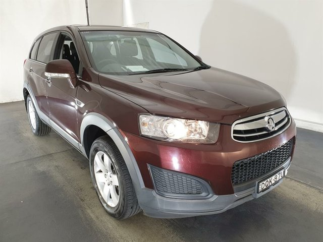 Used Holden Captiva CG MY14 7 LS Maryville, 2014 Holden Captiva CG MY14 7 LS Maroon 6 Speed Sports Automatic Wagon