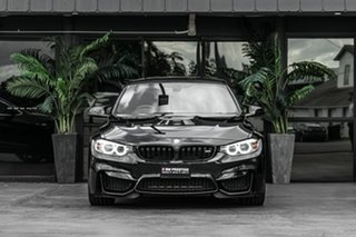 2015 BMW M3 F80 LCI M-DCT Black 7 Speed Sports Automatic Dual Clutch Sedan.