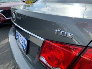 2012 Holden Cruze JH Series II MY12 CDX Grey 5 Speed Manual Sedan