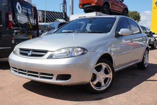2005 Holden Viva JF Silver 5 Speed Manual Hatchback.
