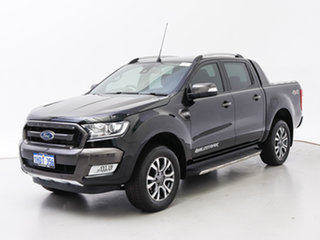 2017 Ford Ranger PX MkII MY17 Wildtrak 3.2 (4x4) Black 6 Speed Automatic Dual Cab Pick-up.