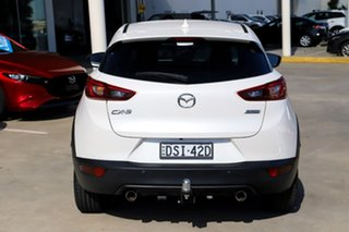 2017 Mazda CX-3 DK2W7A sTouring SKYACTIV-Drive White 6 Speed Sports Automatic Wagon