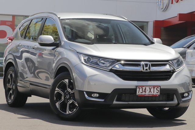Pre-Owned Honda CR-V RW MY18 VTi-S 4WD Woolloongabba, 2017 Honda CR-V RW MY18 VTi-S 4WD Silver 1 Speed Constant Variable Wagon
