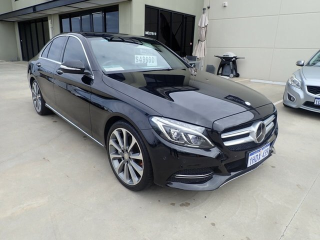 Used Mercedes-Benz C-Class W205 C250 BlueTEC 7G-Tronic + Wangara, 2014 Mercedes-Benz C-Class W205 C250 BlueTEC 7G-Tronic + Black Magic 7 Speed Sports Automatic Sedan