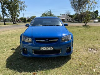 2012 Holden Commodore VE II MY12 SS Blue 6 Speed Manual Sedan.