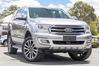 2019 Ford Everest UA II 2020.25MY Titanium Aluminium 10 Speed Sports Automatic SUV.