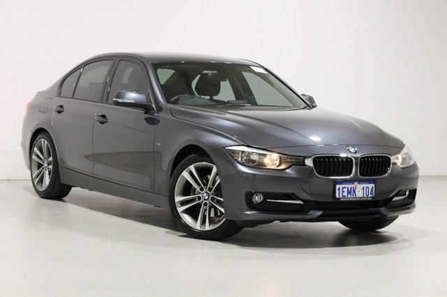 Used BMW 320d F30 MY14 Upgrade Bentley, 2014 BMW 320d F30 MY14 Upgrade Grey 8 Speed Automatic Sedan